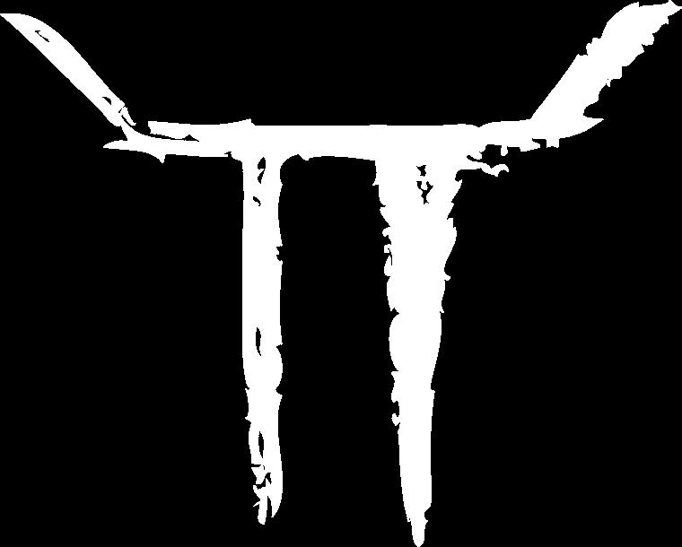 Toro logo mark knockout