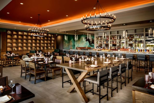 interior restaurant of Toro Dania Beach